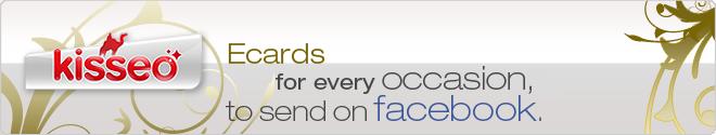 Free ecards on Facebook